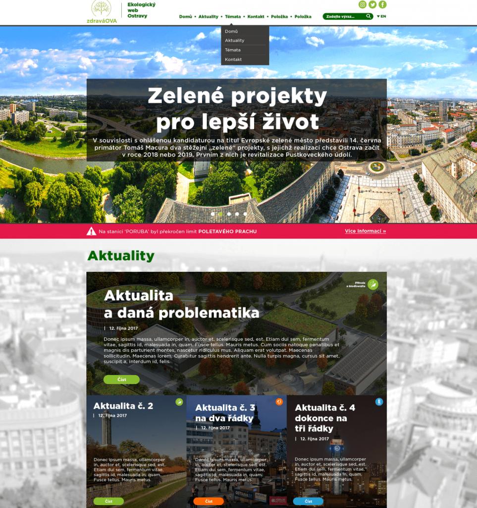 WebDesign - zdraváOVA