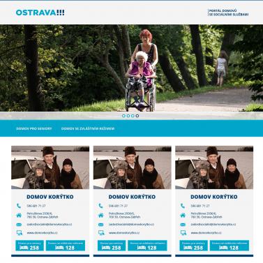 WebDesign - Portál domovů
