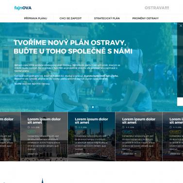 WebDesign - Fajnova